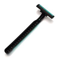 10 pcs / lot rasage lames de rasoir jetables titulaire hommes femmes Voyage rasoir lames de rasoir soins du visage aisselles corps épilation