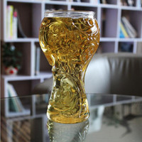 Creative Beer Drinking Glass 2018 World Cup Russian Football...