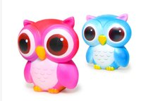 Hot Owl Squishy Toys Soft Slow RisingPhone Strap Squeeze Bre...