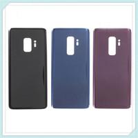 Sostituzione della porta della batteria in vetro posteriore originale senza graffi per Samsung Galaxy S9 G960 S9 Plus G965