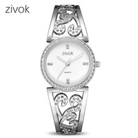 Creative zivok Women Bracelet Watch Fashion Brand Lovers Qua...