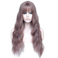 26 дюймов Длинные женские парики с шариками Теплостойкие синтетические kinky Кудрявые парики для женщин Афроамериканец Бесплатная доставка