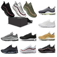2b67ca26aa UNDEFEATED 97 97s OG QS Tripel Blanco Negro Metálico Oro Plata Bullet PRM  WHITE Pink 3M