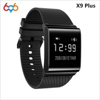 X9 Plus Smart Wristband Touch Screen Heart Rate Monitor Bloo...