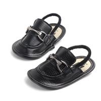 طفل الأخفاف الصيف الأولاد الصنادل شبشب بو الجلود الرضع الصنادل لينة وحيد مضاد للانزلاق حذاء طفل