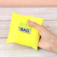 접이식 사용 가능한 쇼핑백 편리한 보관 핸드백 친환경 식료품류 나일론 대형 휴대용 재판소 소설 실용적인 조명 1 79dc cc