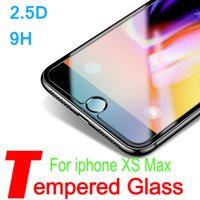 For iPhone 8 7 6 6S X Xr Xs Plus Tempered Glass Screen Prote...