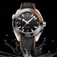 Hot Sale Luxury Mens Watch OM SEA MASTER Series black face H...