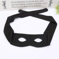 Zorro Mascarade Masque Nouvel Adulte Enfant Demi Visage Masques Pour Les Yeux Cosplay Prop Halloween Fournitures De Fête Noir 1 7ly C