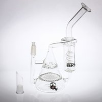 23cm Glass Bongs Honeycomb&Tornado Percolator Two Function R...