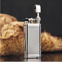 New Style Cigarette Lighter Fashion Metal Inflatable Lighter...
