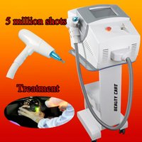 Portable ND Yag laser beauty machine have one handle with 3 ...