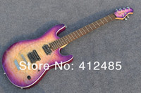 Envío gratis de alta calidad muy hermosa púrpura Music Man Electric Guitar