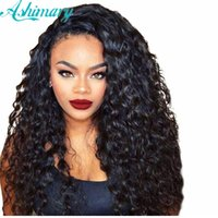 7A Brazilian Hair Loose Deep Wave 3 Bundles With 360 Lace Fr...
