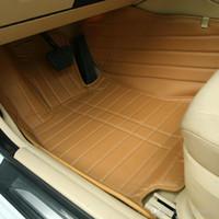 Custom fit esteiras do assoalho do carro para Nissan altima Rouge X-trail Murano Sentra Sylphy versa Tiida 3D car-styling forro do assoalho de tapete