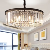 Round Shape Crystal Chandelier Lighting Lustres Luminaires H...