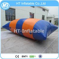 Livraison Gratuite Prix Usine 6x2m Sports Nautiques Le Blob / Location Gonflable Catapulte Aquatique Blob / Eau Blob