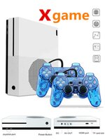 2018 NEW Xgame Console Support HDMI  TV Game Console 2pcs Ga...