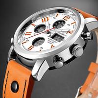 de1642f1585 Compre Original Moda OHSEN Quartz Eletrônico Masculino Relógio Do ...