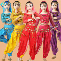 Girls Belly Dance Costume Set Suit Kids Belly Dancing Child ...