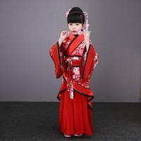musica tradizionale cinese intrattenimento donna abbigliamento danza classica bianco vestito costumi di danza popolare per bambini ragazze bambini bambino rosso blu