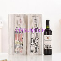 One Bottle Red Wine Paper Packing Storage Bag Event Party Pa...