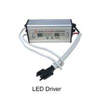 Led Transformador 4W 5W 6W Fuente de alimentación impermeable IP67 constante 600mA de corriente 12V CC 24V llevó el conductor para las luces de techo Downlight Foco