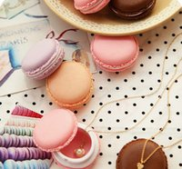 Portable Candy Color Mini Cute Macarons Carrying Case Organi...