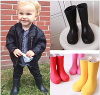 2018 new Tall Rain Boot Children rain boots Rainboots Ms. Gl...