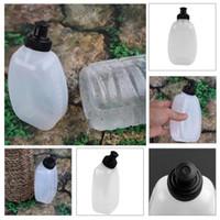 250 ml de capacidad Portátil PE / PP Corriendo Corriendo Deportes Botella de agua para Cinturón Bolsa MTB Ciclismo Bicicleta Botella de agua