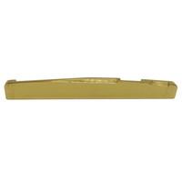 النحاس الذهب الصوتية غيتار جسر السرج 72 * 3 * 6.9 / 7.8mm-MUSIC