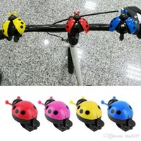 Lovely Kid Beetle Ladybug Ring Bicycle Bell For Cycling Bicy...
