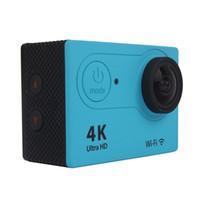 Ultra HD 4 Karat H9 WIFI Action Kameras Full HD 1080 P Mini Sport Kamera DV Video Camcorder 170 Objektiv 2 zoll LCD Kamera