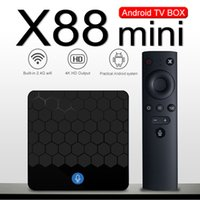 X88 Mini Android 7. 1 Tv Box Quad Core 2GB 16GB RK3328 2. 4G W...
