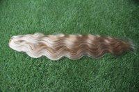 Trama brasileña del pelo de la Virgen de la onda natural 1 pelo del color del piano del paquete el tejer del cabello humano del 100%
