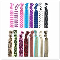 16 Colors Knotted Women Hair Ties Elastic Leopard Hair Bands...