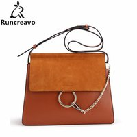 2018 Hot Sale Famous Brand Design Women Handbag High Quality Genuine  Cowhide Leather Cloe Bag Casual Chain Shoulder Bag 5e642170fb226