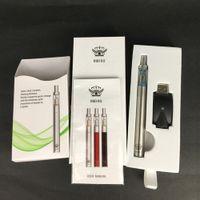 Espessura atomizador de óleo 290 mah bateria de carregamento rápido de cerâmica bobina elemento de aquecimento estilo mini e caneta com kit de caneta de vidro descartável vape pen