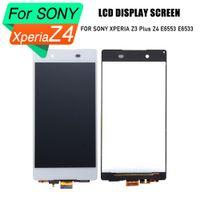 Sony xperia z4 için prepairp lcd sayısallaştırıcı ekran lcd ekran dokunmatik ekran meclisi sony xperia z3 artı z4 e6553 e6533