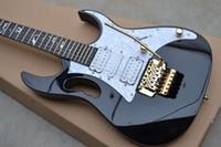 Alta qualità di spedizione gratuita Nuovo IBZ JEM 7V nero chitarra elettrica In magazzino