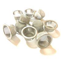 Diamètre 0.5 pouce Hauteur En Gros Tuyau En Cristal En Acier Inoxydable Filtres En Métal Mentaux Accessoires pour Crystal Pipes Utilisation