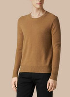 Leading Men London Brit Sweaters Pullover England Solid Swea...