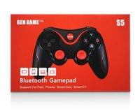 DHLGen Spiel S5 Wireless Bluetooth Gamepad Joystick für Android Smartphone Tablet PC Fernbedienung Mit Halter