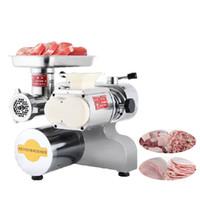 Beijamei Machine à viande commerciale à double fonction pour hacher de la viande Trancheuse en acier inoxydable
