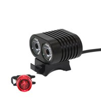 KC FIRE 2400LM T6 LED Bicicleta Ciclismo Lámpara Led Luz HeadLight Faro Banco de potencia con USB Recargable Linterna Al aire libre 01
