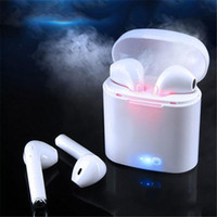 I7 I7S TWS Gemelos Auriculares Bluetooth Mini Auriculares inalámbricos Auriculares con micrófono Estéreo V4.2 Auriculares para Iphone Android con paquete minorista