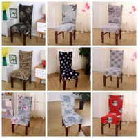 Spandex Chair Covers Elastic Dining Seat Cover Anti- dirty Re...