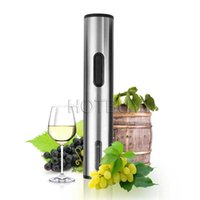Electric Red Wine Auto Opener Stainless Steel Metallic Silve...