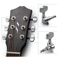 5 PCS di (6 pezzi per chitarra acustica per chitarra acustica, manopole per chitarra sintonizzazione per chitarra elettrica (3 per sinistra + 3 per destra))