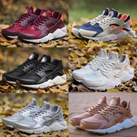 Air Huarache Ultra Running Shoes For Men Women, Woman Mens Bl...